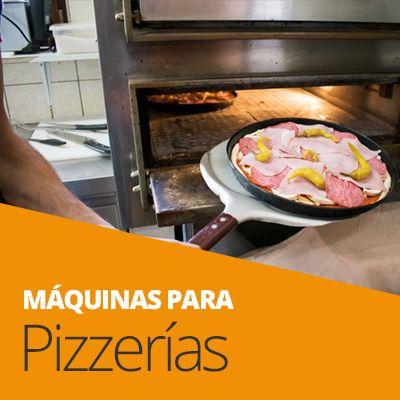 maquinaria pizzerías